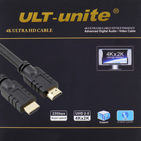 ULT Unite HDMI High Definition Round True 4K X2K Computer Connected TV 19 1 Tinned Copper