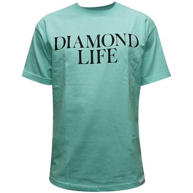 Diamond Supply Co Diamond Life T-shirt Diamond Blue 9867520bc