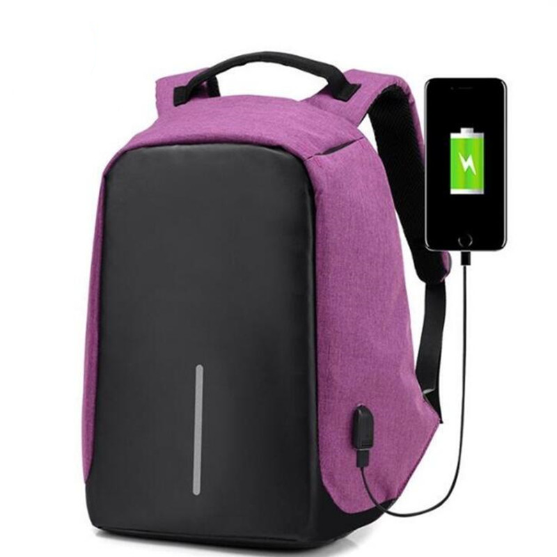 New 2017 Fashion Anti-theft USB charging Men Laptop Backpack Women Mochila Multifunctional Casual Travel School Backpacks Bolsas kingsons external charging usb function school backpack anti theft boy s girl s dayback women travel bag 15 6 inch 2017 new