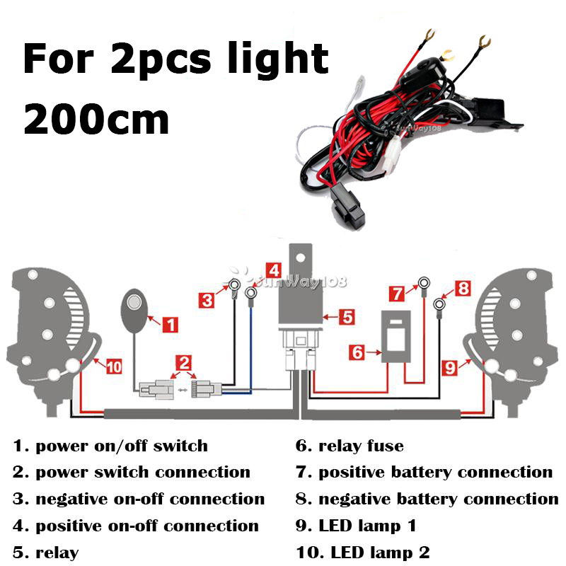 Awesome Spotlight 2 Battery Wiring How To Wire Spotlights On A Car Wiring 101 Cularstreekradiomeanderfmnl
