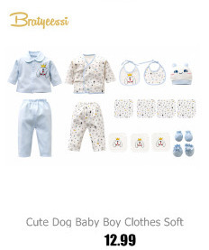 6534f8f36 21 Pcs Set Cotton Newborn Baby Clothing Set for Girls Boys Toddler ...