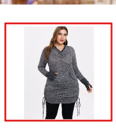 4a8edf57561 Wipalo Plus Size Draped Floral Tunic T-Shirt Scoop Neck Long Sleeve Buttons  Embellished Casual Autumn Women Tee Big Size Top 5XL