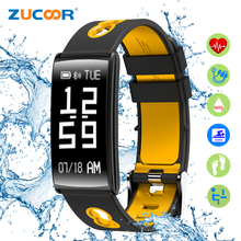 ZUCOOR Smart Bracelet Pulsometro Wristband Pulse Band CB07 Pedometer Fitness Monitor Activity Tracker Men's Electronics Devices