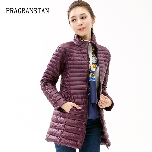 9b0850b7b5 Товар 90% White Duck Down Jacket Women Winter New Fashion Waterproof ...