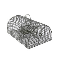 High Sensitivity Mouse Trap Doors and Cage Rat Trap Mice mousetrap Hunt Rat Cage nab Metal Tin Mouse Basket Home