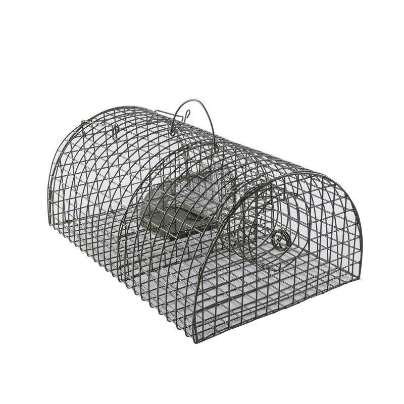 Piège à souris réutilisable en métal Cage à étain souris piège à souris chasse Cage à Rat rongeur répulsif attraper Hamster piège à Rat lutte antiparasitaire