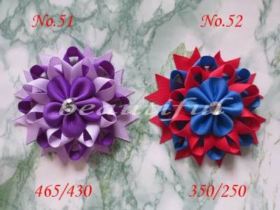 100 BLESSING Good Girl Boutique Modern Style H- Bird's Nest Hair Bow Clip 158No. blessing and love big or retail a good gift for weddin new guaranteed 100