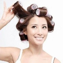 6Pcs/Set Grip Hair Rollers Cling Any Size DIY Hair Curlers Beauty Big Self Tools