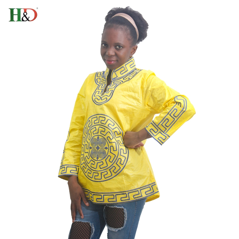 H & D 2017 új stílusú afrikai ruhák nők afrikai bazin riche - Nemzeti ruhák