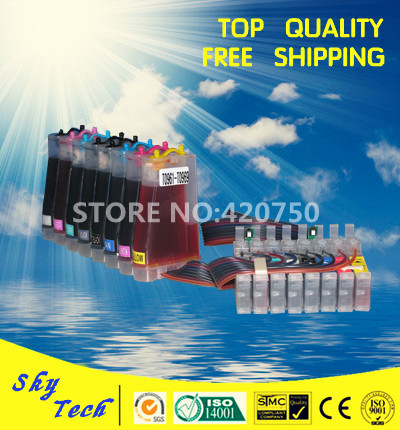 CISS suit for Epson T0961 to T0969 ,8 colors Full Ink CISS suit for  Epson Stylus  R2880 , with ARC chips ciss suit for epson stylus photo r1900 suit for t0870 t0871 t0879 series fulll dye ink ciss with arc chips