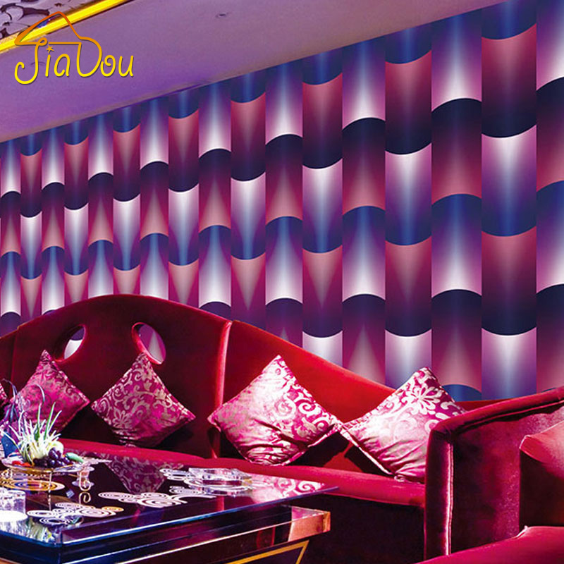 3D Stereoscopic Abstract Art PVC Wallpaper KTV Bar Living Room TV Background Wallpaper Waterproof Home Wall Decor Paper Rolls new fashion classical powder yellow pink yellow abstract art wallpaper stripe fabric vision tv wall stickers vintage waterproof
