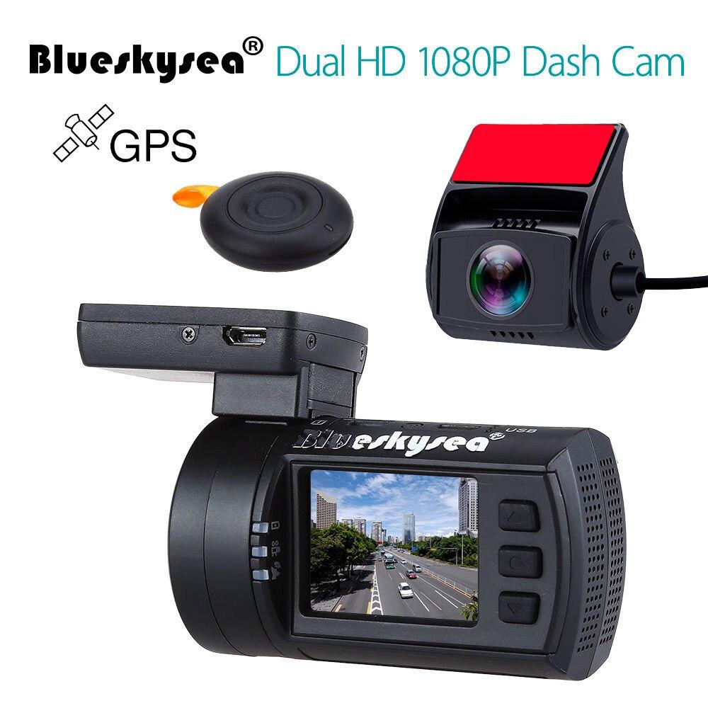 buy blueskysea mini 0906 dual dash camera full hd 1080p car camera sony imx291. Black Bedroom Furniture Sets. Home Design Ideas