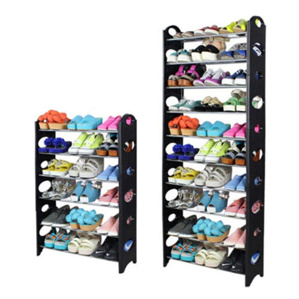 Shoe cabinet 7 layer 6 grid Non woven fabrics large shoe rack ...