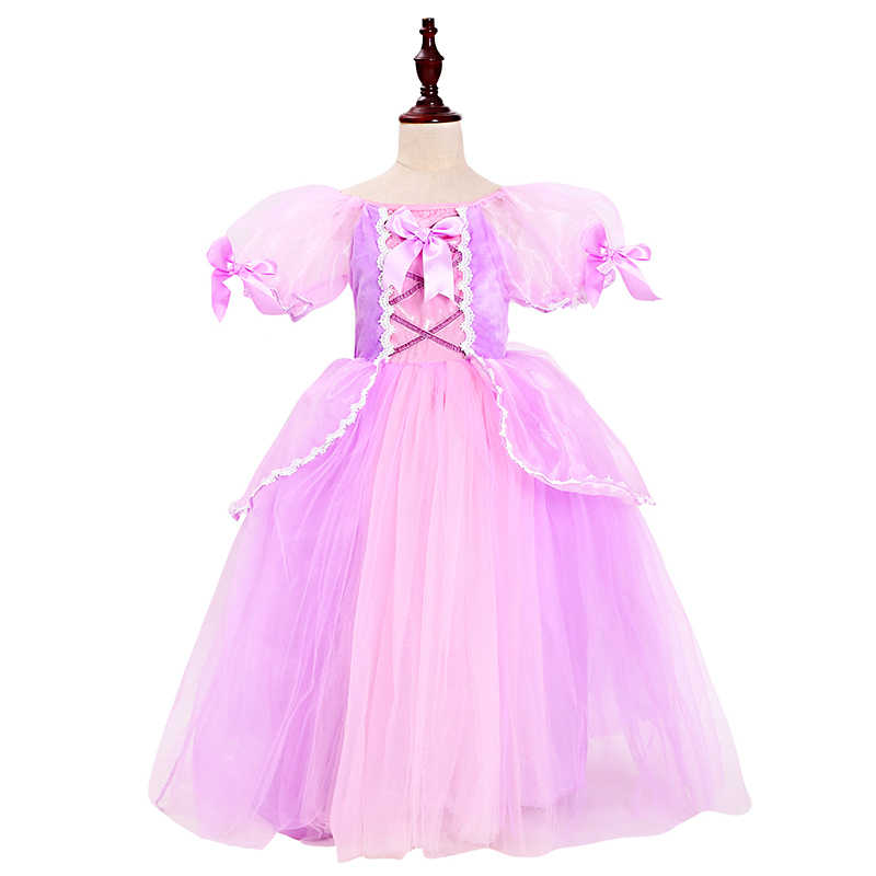 2261f6ce93 PaMaBa Sofia Girls Clothes Dress Halloween Children Gowns Clothing New Year  Princess Sofia Dress up Kids Birthday Party Vestidos