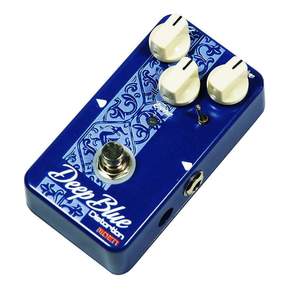 Moen Deep Blue Distortion Effect Pedal Electric Guitar Effects AM-DB deep blue