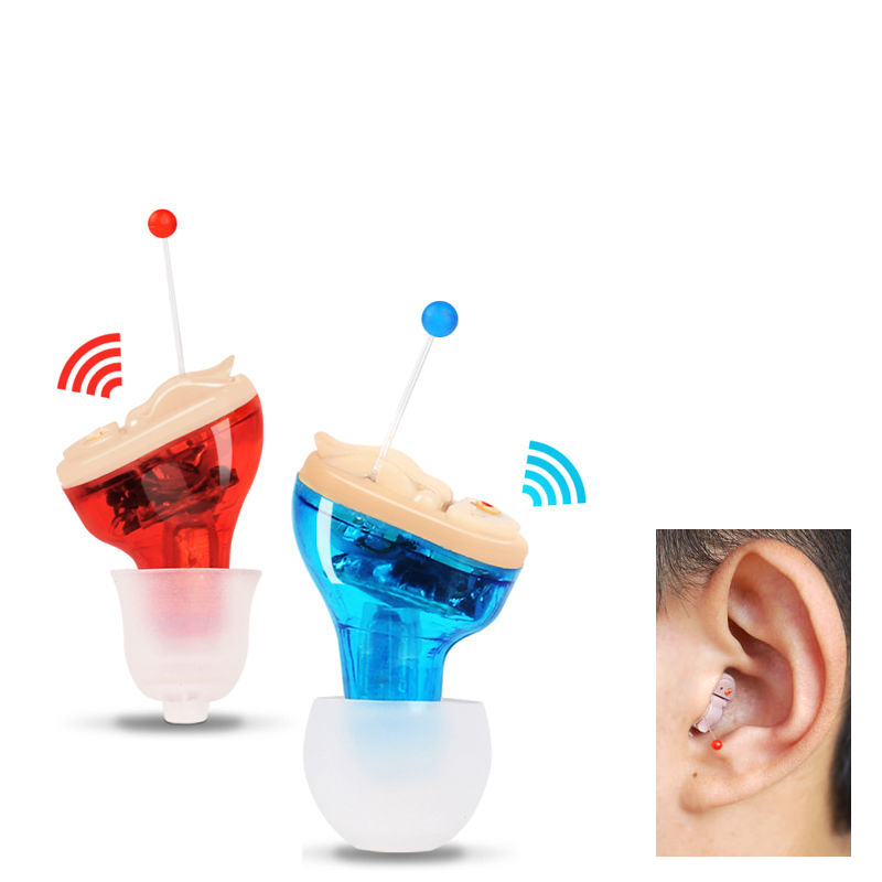 Hearing Aid CIC Invisible in Canal small Sound Voice Amplifier Fit for Old Pelope  590170  590171 the teeth with root canal students to practice root canal preparation and filling actually