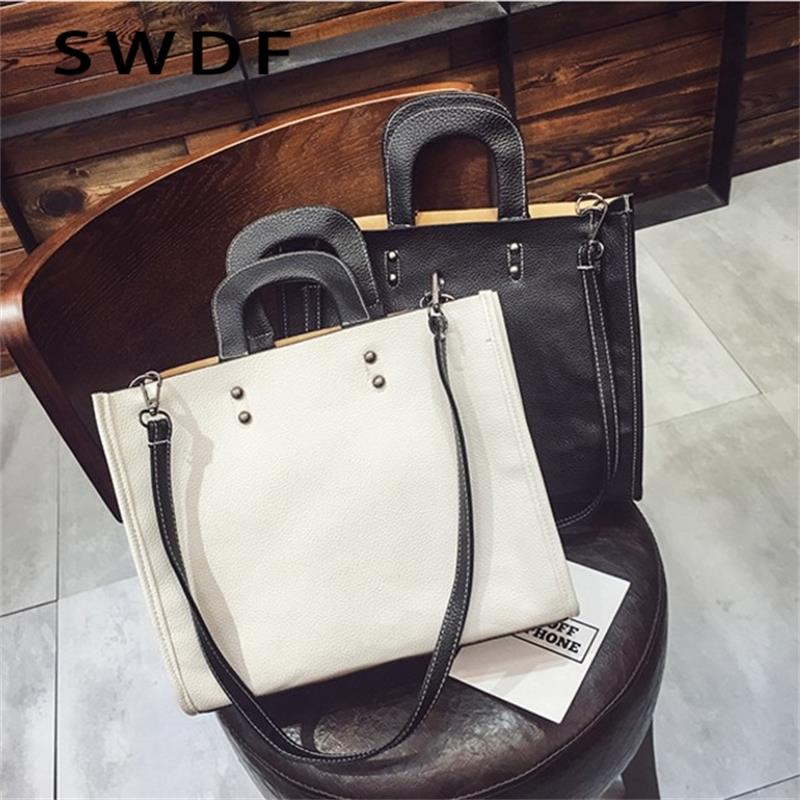 SWDF 2017 Women's Shoulder Bag PU Women Zipper Handbags Bucket Bag Ladies Hand Bags Casual Big Female Floral Tote Bag for Ipad hisuely 2017 vintage skull shoulder bags women bucket pu leather with silk female black handbags ladies casual chain tote bag