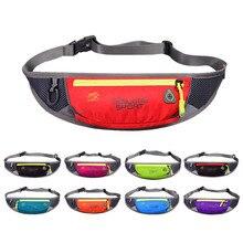 Women Men Sports Belt Bags Outdoor Waist Packs Bags Unisex Sport Fitness Gym Running Waistband For Accessory Small Travel Bag