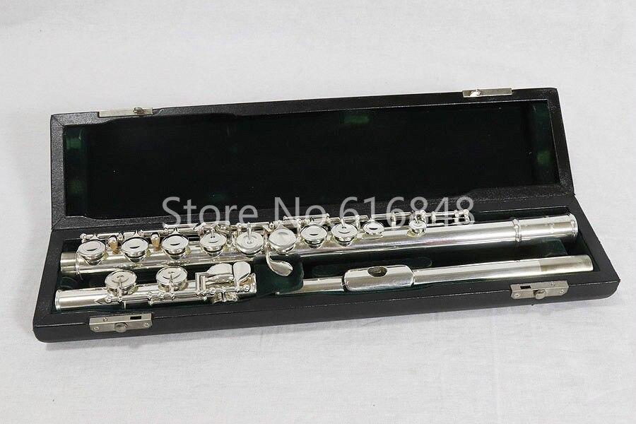 Жемчуг PF 525 E флейта C мелодия 16 ключи отверстия закрытым качество посеребренные средства ухода за кожей бренд музыкальный инструмент с