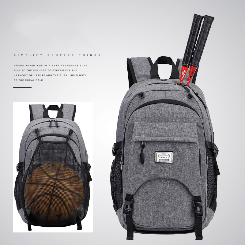 Outdoor Men Sports Gym Bags Waterproof Basketball Backpack Badminton Racquet Bags For Teenager Football Soccer Ball Fitness Bag(China)