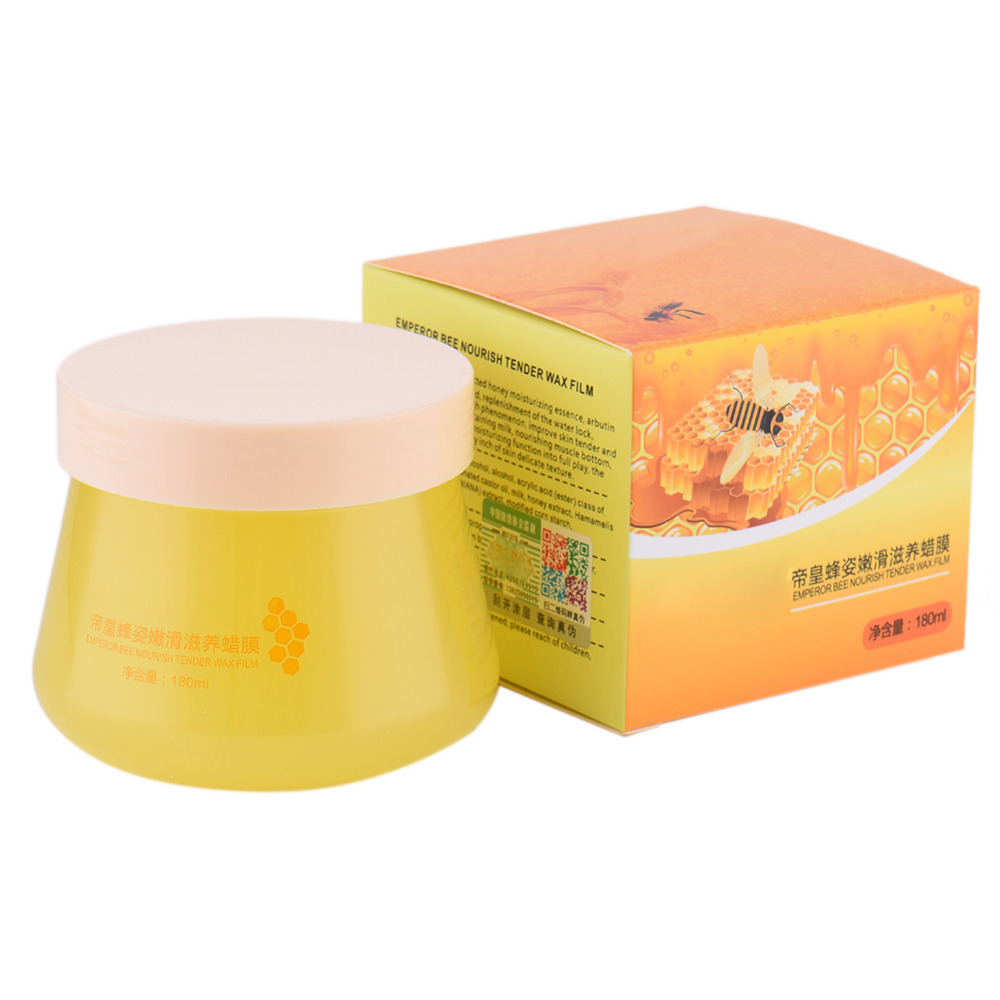 Honey Paraffin Wax Exfoliating Whitening Foot Mask Skin Care Paraffin Bath Moisture Wrinkle Removal Firming Hand Care Wax Bath