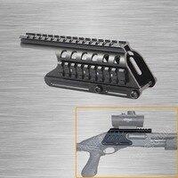 Remington 870 Picatinny Rail Saddle Scope Mount Shotgun Hunting 20mm Double Picatinny Rail Mount System RM870