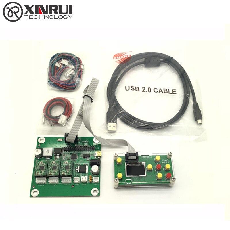 GRBL 0.9J,USB port cnc engraving machine control board, 3 axis control,laser engraving m ...