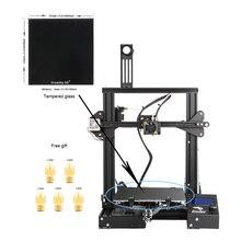 Creality 3D новые Ender-3 3D-принтеры Mini Kit металлический каркас принт Размеры 220*220*250 мм 3D-принтеры DIY Kit с бесплатными сопел