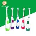 Chu Cheng Niños cepillo de Dientes Eléctrico, Cuidado Dental Cepillo de Dientes a prueba de agua, batería Niños cepillo de Dientes Eléctrico de la Vibración de Rotación