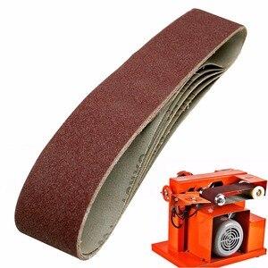 Image 4 - 10แพ็ค686*50Mm Sanding Belts 40 1000 Gritอลูมิเนียมออกไซด์Sander Sandingเข็มขัด
