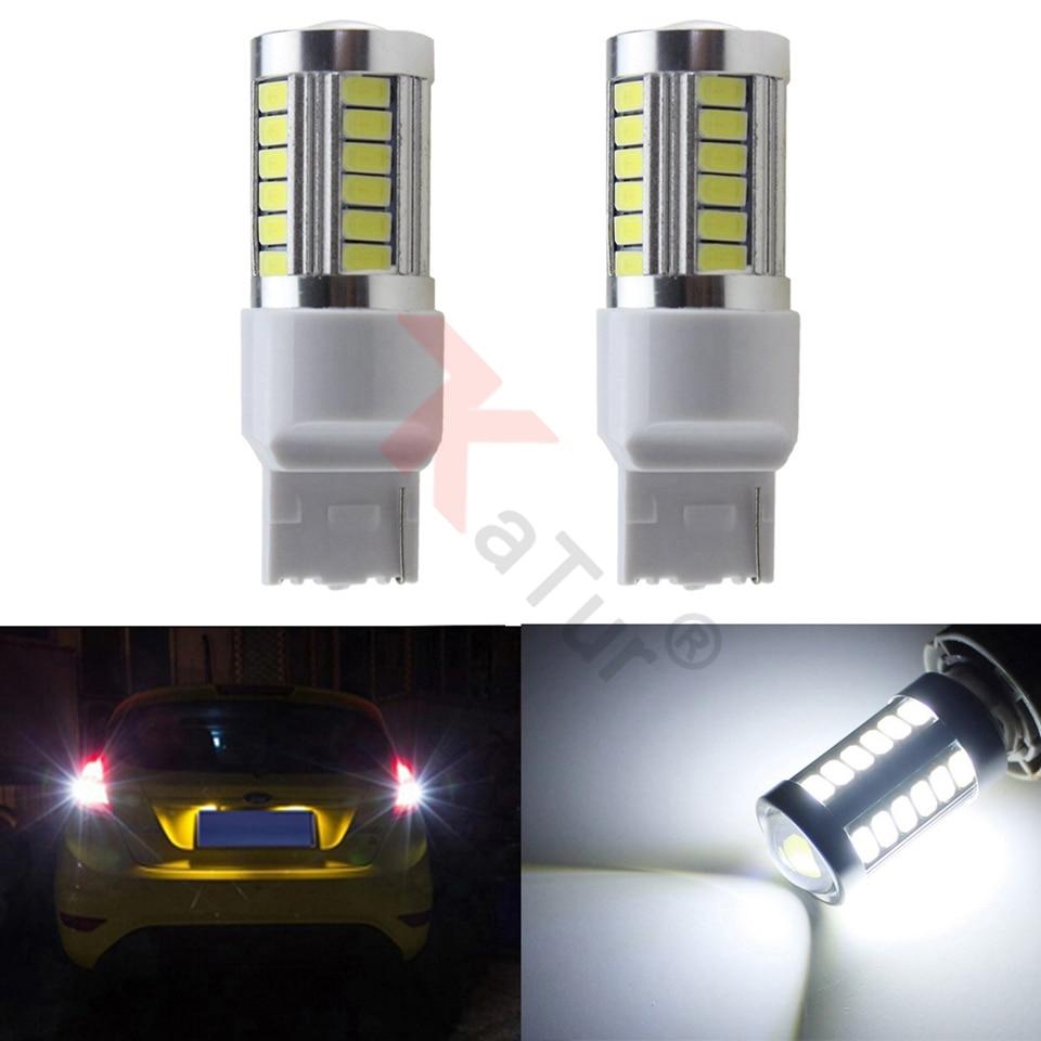 KaTur 34 Round LED Front Rear Side Marker Indicators Light Waterproof Bullet C