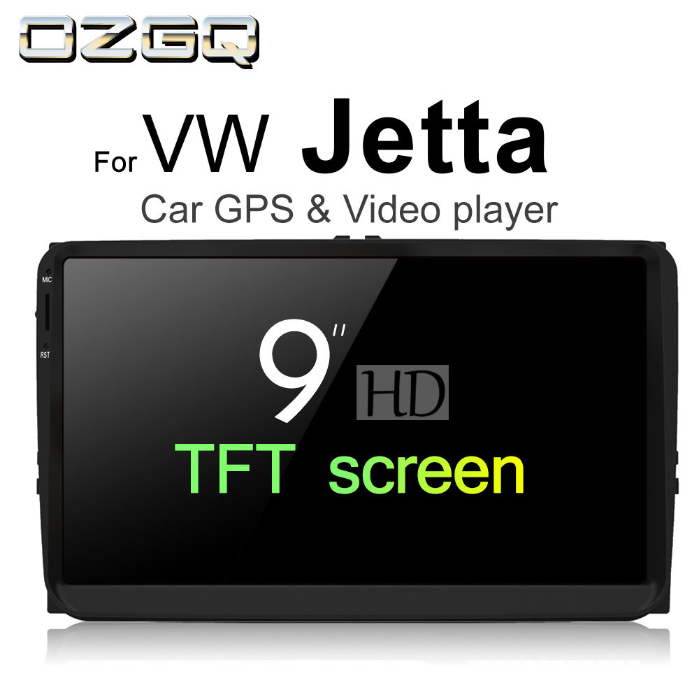 OZGQ Android 7.1 Car Player For VolksWagen VW Jetta 2005~2011 HD Screen Auto GPS Navigat ...