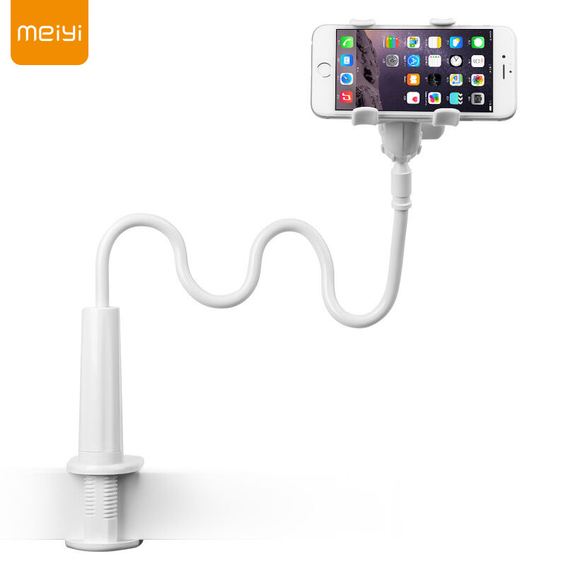 MEIYI Mobile Phone Holder Stand 360 Degree Flexible Long Arm Lazy Bracket Stand For Iphone <font><b>Samsung</b></font> Xiaomi Smartphone under 6.3'' image