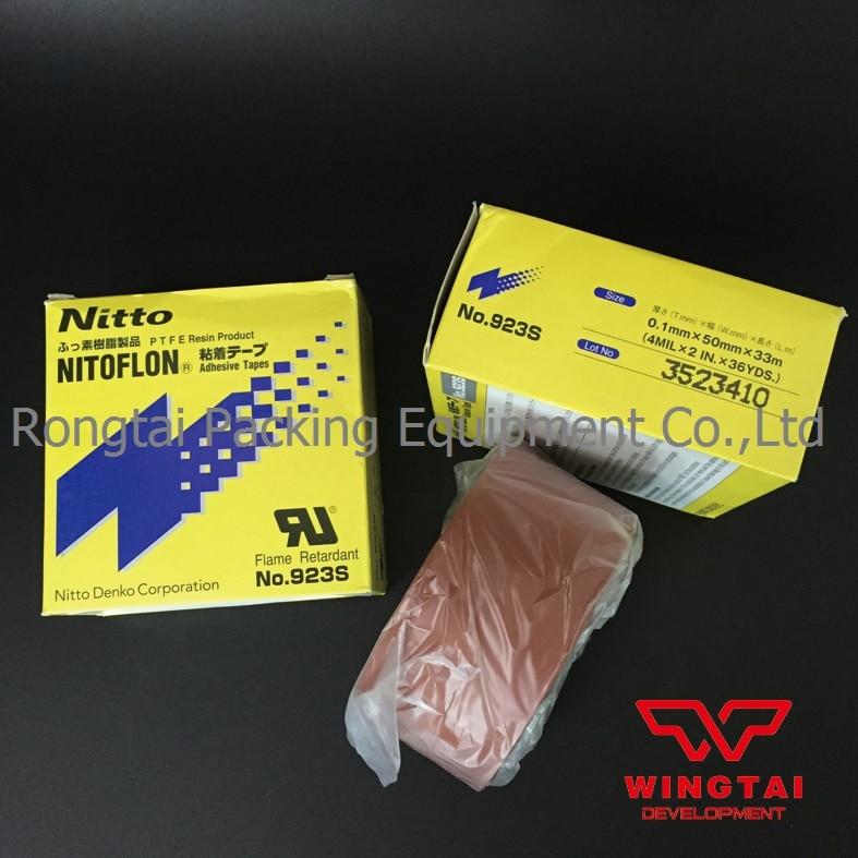 Первоначально Япония Нитто Денко PTFE клейкой ленты 923s Т0.1мм*W38был/50мм*L33m