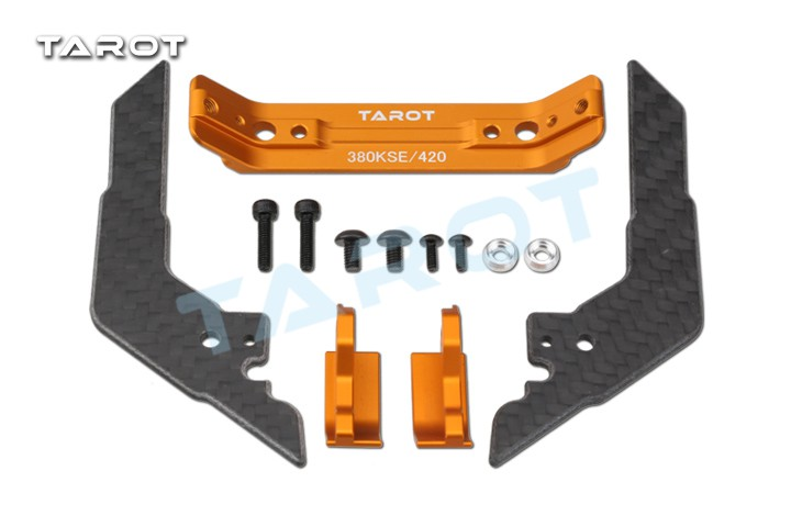 Tarot 380 Metal landing gear set for GOBLIN 380 adapt  helicopter airplane Retrofit upgrade esky lama v3 v4 cnc helicopter upgrade metal head set