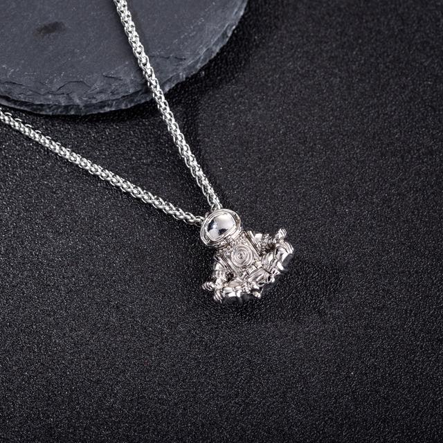 Spaceman Astronaut Necklace Pendant