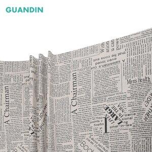 GUANDIN, газетный похлопыватель, напечатанная на пол метра хлопковая льняная ткань для самостоятельного шитья и шитья, ткань/диван/Сумка/занавеска/Подушка/материал