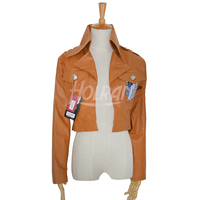 Hot anime Attack on Titan Eren Jager Scouting Legion Jacket Coat Cosplay Costume