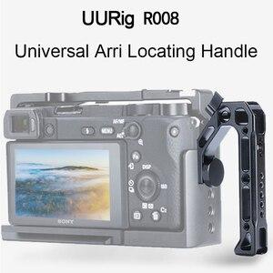 Image 2 - UURig R008 אוניברסלי Arri מיצוב ידית מצלמה למעלה ידית לחיצת יד עבור צגים מיקרופונים כדי Sony ניקון Canon מצלמות