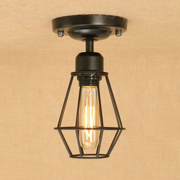где купить IWHD Loft Style Iron Plafon Vintage Ceiling Lights For Living Room Kitchen Luminarias de techo Bedroom Plafondlamp Lustre Led по лучшей цене