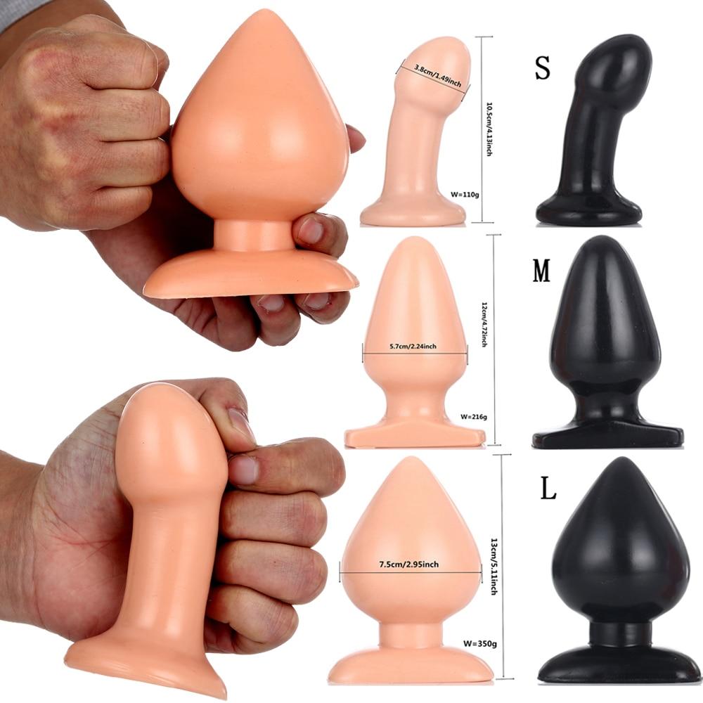 Completely Waterproof Butt Plug Big Anal Plug Dilatator Adult Sex Toys Anal Beads Vagina Dilatador Butt