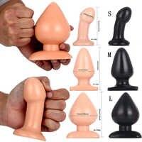 Completely Waterproof Butt Plug Big Anal Plug Dilatator Adult Sex Toys Anal Beads Vagina Dilatador Butt Plug Large Sex Toys