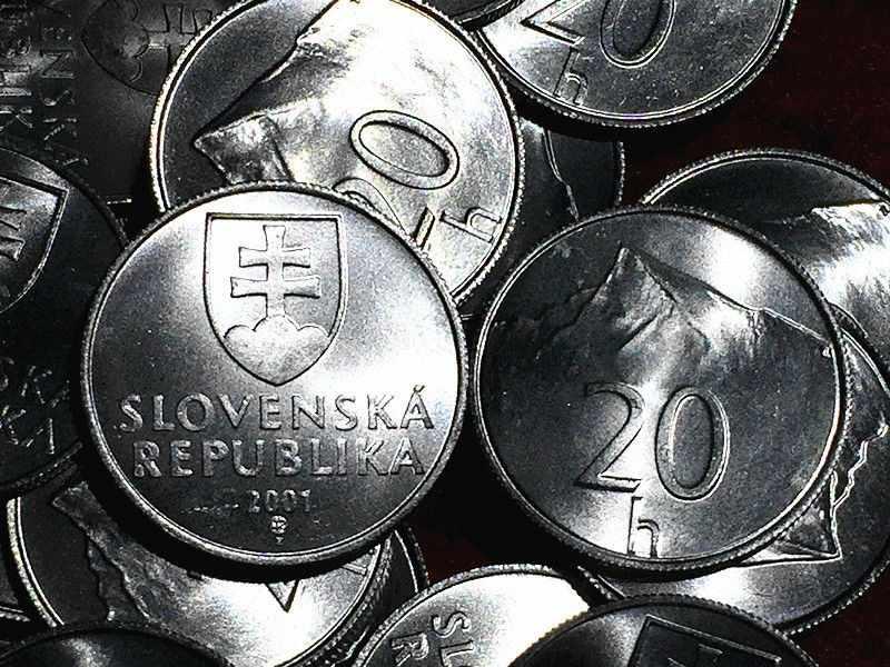 Eslováquia 20 H Moeda Euro Da União europeia UE Colecionáveis Comemorativas Yogoslavia Sérvia