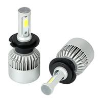 1 Pair Aluminum H7 200W Set DC9 32V LED Car Lights Headlight Bulbs Car Modification Cool