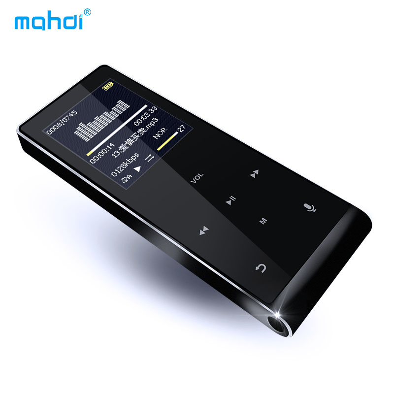 Brand Mahdi MP4 Player 8G Music Player 1.8 inch Touch Shatterproof Anti-Scratch HD Screen Support Video Music Recording Picture image