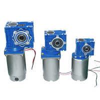 High-torque DC Worm Gear Motor DC 12V 24V 90V 220V 120W/250W RV030 040 Gearbox DC Permanent Magnet Motor