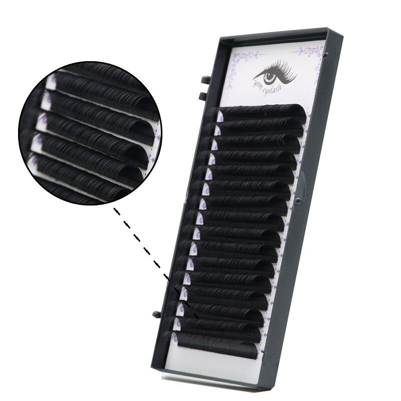0.20mmBC D,16Rows,Faux Mink Individual Eyelash Extension,silk Classic Eyelash Volume Lash Extension For ,mink Eyelash Extension