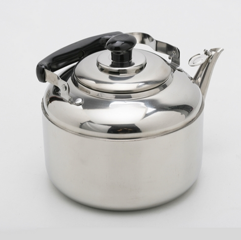 4 5L Big Capacity Stainless Steel Whistling Water Kettle Kitchen Tools Free Shipping