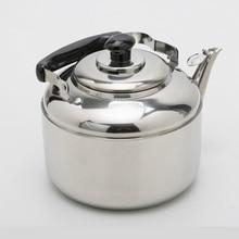 4.5L Große Kapazität Edelstahl Pfeifen Wasserkocher Küche Werkzeuge Kostenloser Versand