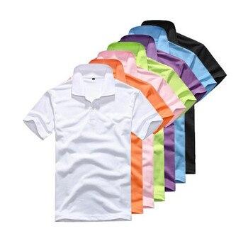 480da33c9f9750 Camicia di Polo degli uomini Casual A Maniche Corte Uomo Camicia di Polo  del Cotone di